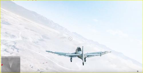 三人称視点の飛行機操縦