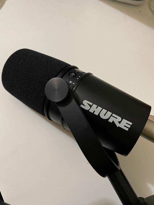 SHURE MV7マイク